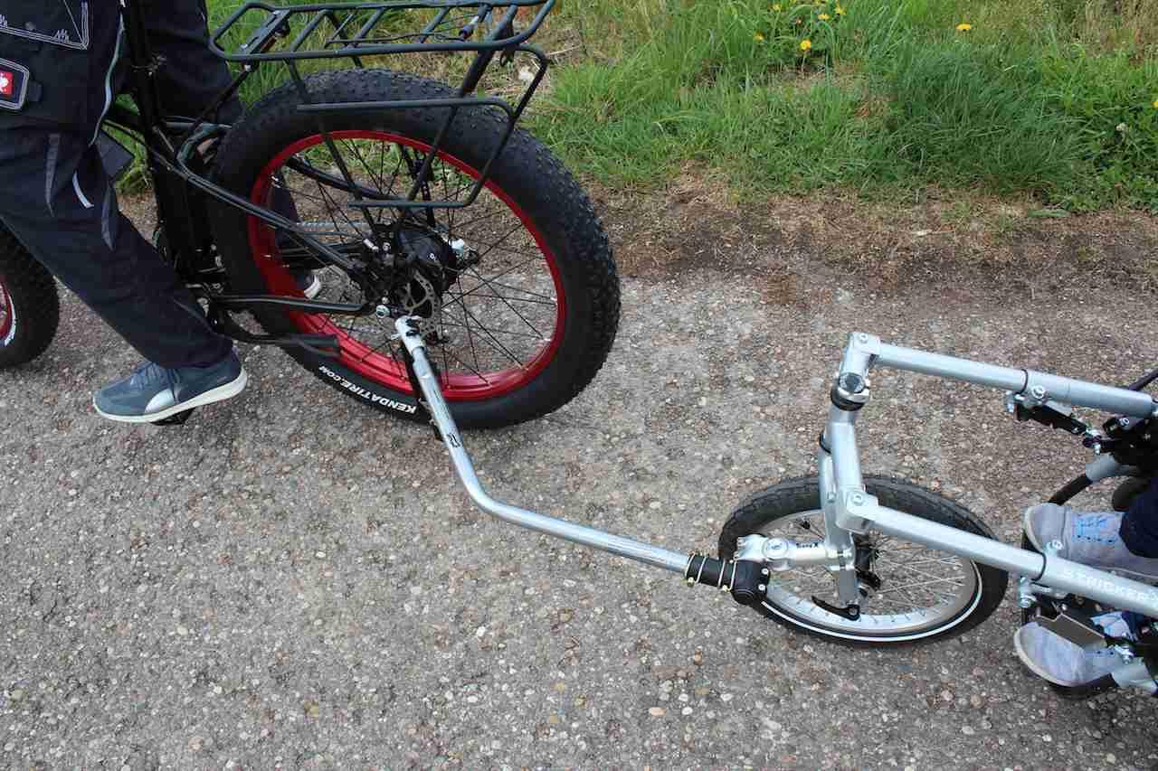 Handbike-Ziehstange