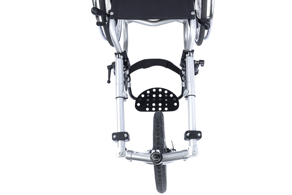 Safe on the road with   stable, adjustable frame