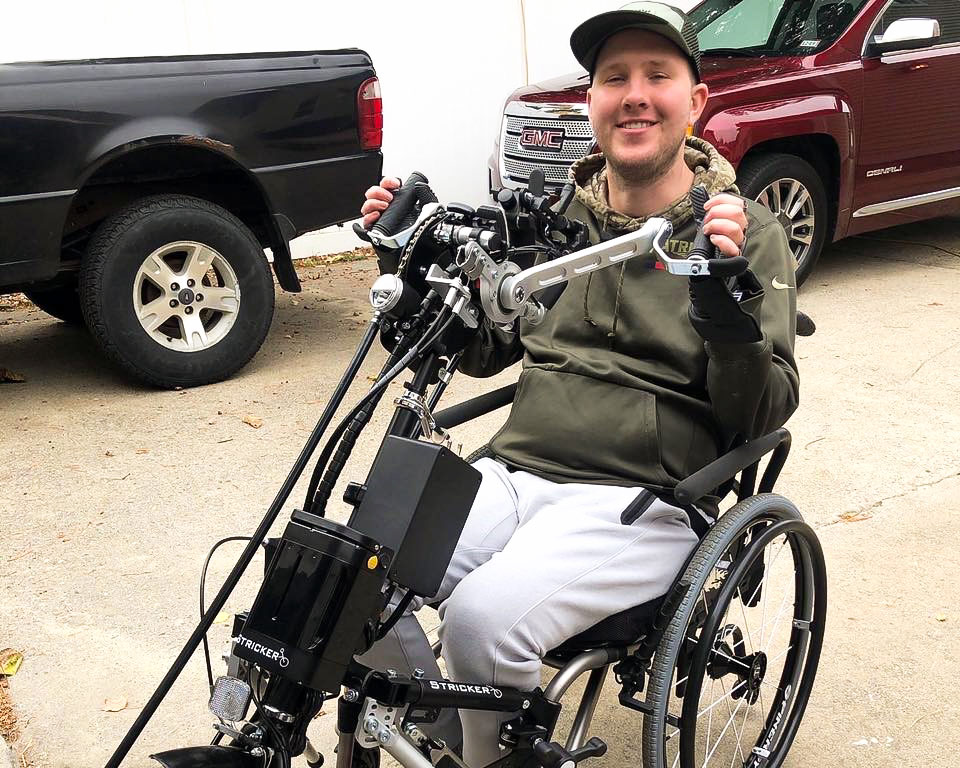 Stricker Handbikes have changed the game for me