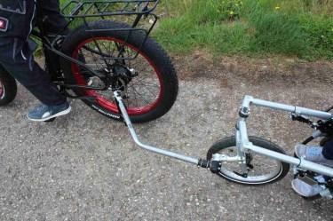Handbike Tow Bar